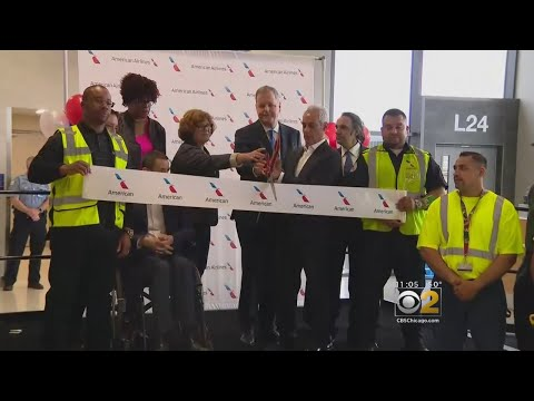 O'Hare Celebrates Five New Gates For American Airlines