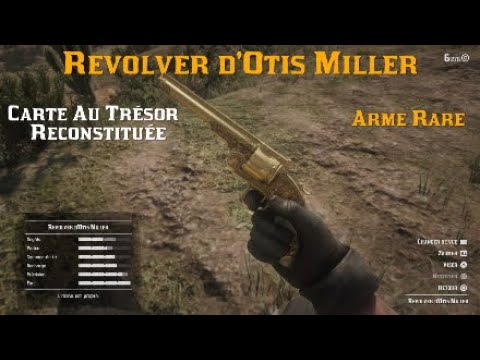 Carte Au Tresor Otis Miller.Red Dead Redemption 2 Revolver D Otis Miller Carte Au Tresor