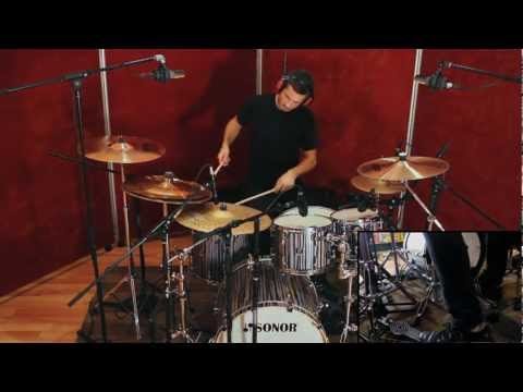 """The New Caledonia - """"ElectroLegs"""" STAN BICKNELL Drum Play-Through"""