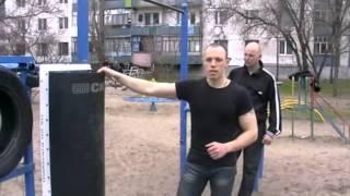 Макивара СК для наработки жесткого удара
