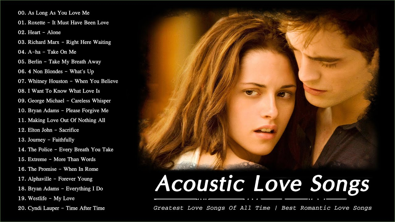 Acoustic Love Songs 80's 90's | The Greatest Love Songs Of All Time | Best Romantic Love Songs