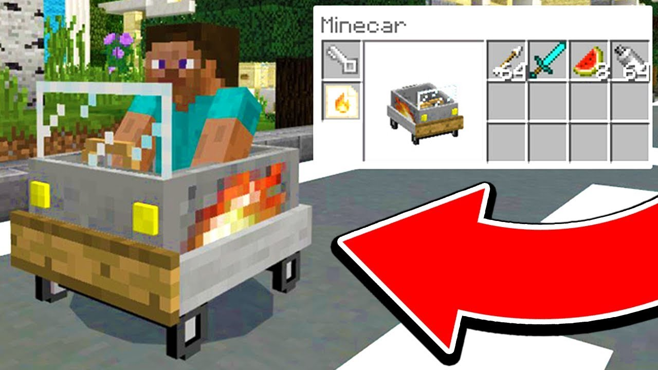 How To Build A Working Car In Minecraft Flying Cars