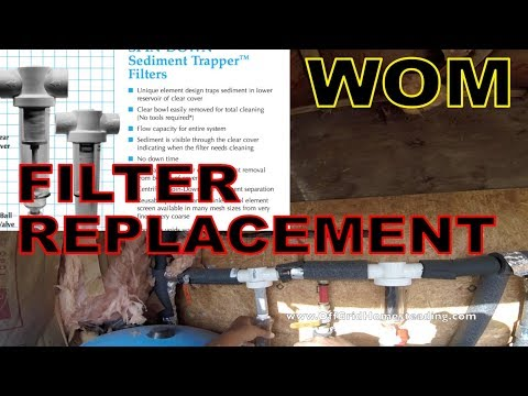OGH - Changing our Rusco Spindown Water Filters WOM