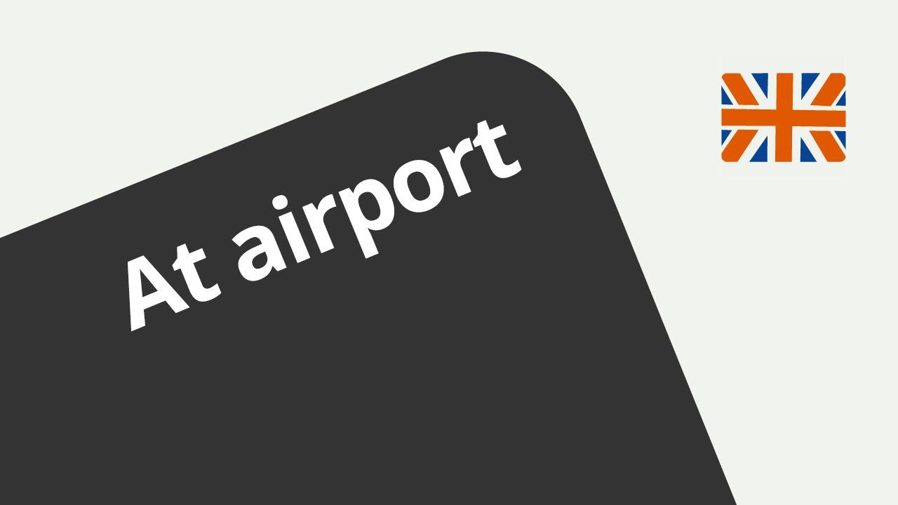 Flughafen Englisch