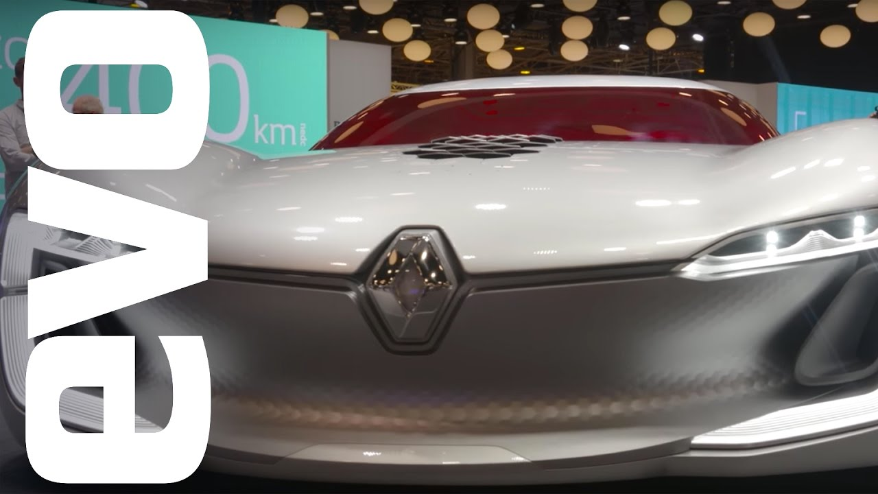 Renault Trezor Concept Explored Evo Motor Shows