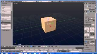 Blender 3D Уроки для начинающих. Часть 1