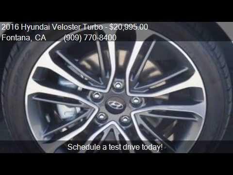 2016 Hyundai Veloster Turbo Base for sale in Fontana, CA 923
