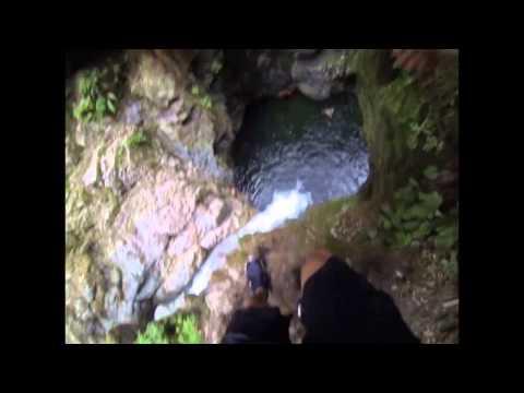 Cliff Jumping in Lynn Valley 2015