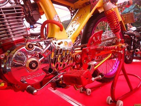 Custom Honda CB Glatik Racing Drag Style Kontes
