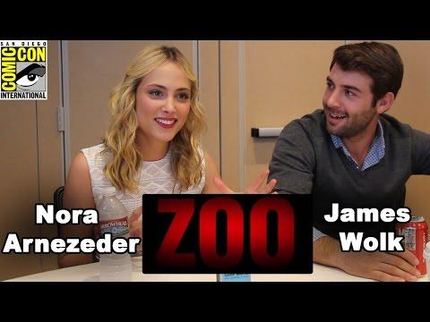Zoo  James Wolk & Nora Arnezeder   ComicCon 2015