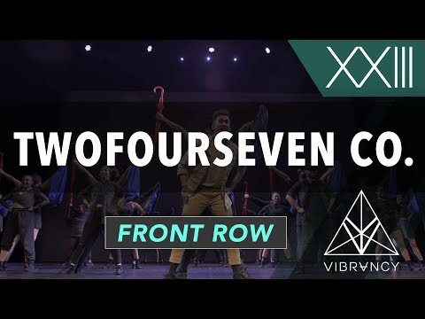 [3rd Place] TwoFourSeven Co. | VIBE XXIII 2018 [@VIBRVNCY Front Row 4K] #vibedancecomp