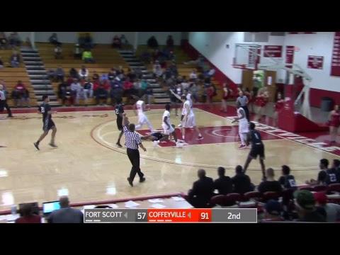 Mens Basketball Coffeyville CC vs Fort Scott CC