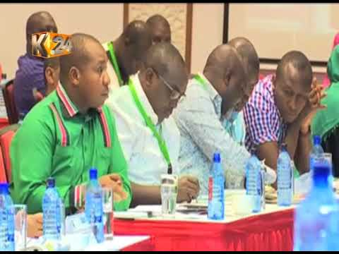 Five day MPs retreat ended today in Mombasa