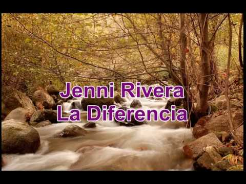 Jenni Rivera La Diferencia (Lyrics)