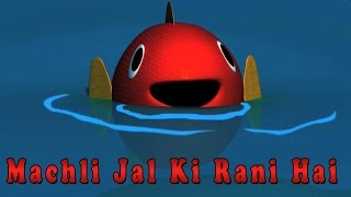 Machli Jal Ki Rani Hai | Hindi Balgeet | Rhymes in Hindi | Kids Tv India | Hindi Nursery Rhymes