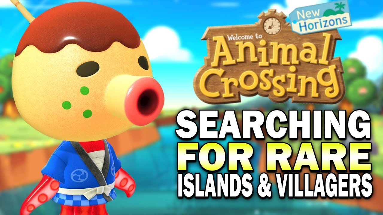 Searching For Rare Villagers Islands Animal Crossing New