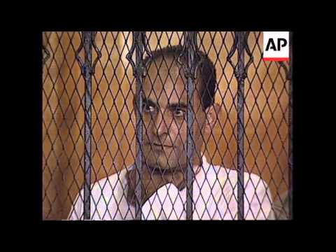 EGYPT: CAIRO: JUDGE CRITICISES DEFENCE CASE IN SPY TRIAL