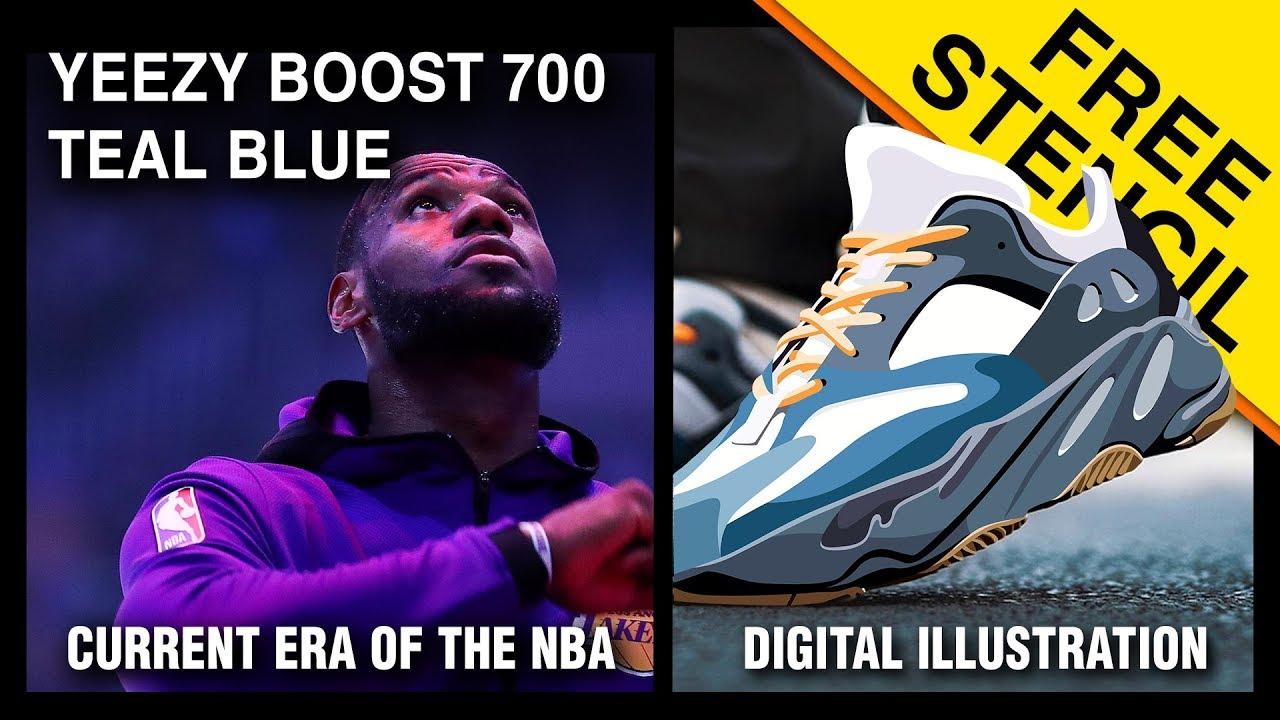 adidas Yeezy Boost 700 Teal Blue Coming Soon •