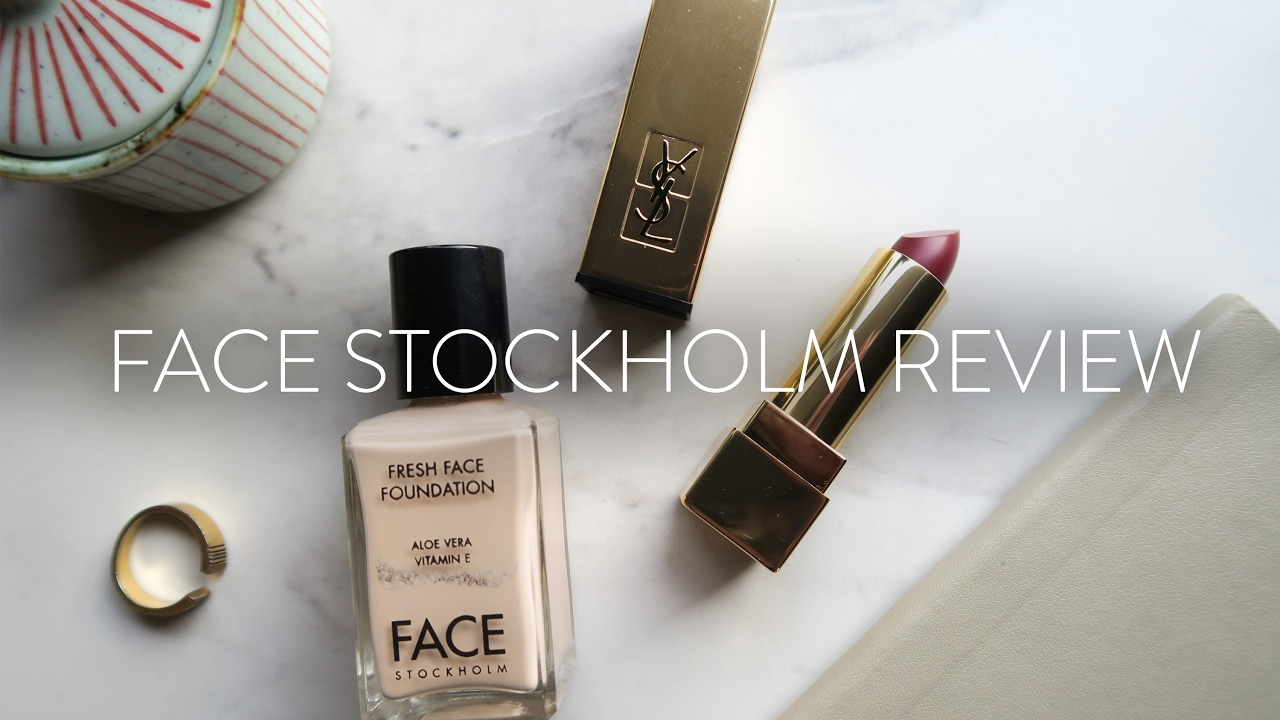 Face Stockholm Foundation Review & YSL Pop Up | Beauty Vlog #1 - YouTube