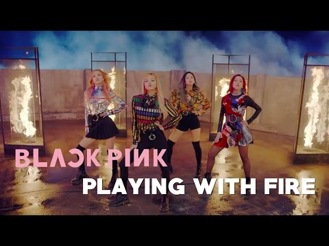 Blackpink Playing With Fire Letra Fácil Easy Lyric Youtube