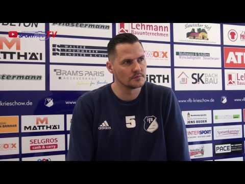Interview mit Toni Lempke nach dem Spiel VfB 1921 Krieschow vs. TuS Sachsenhausen
