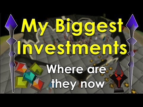 My 5 Biggest Old School Runescape Investments [OSRS]
