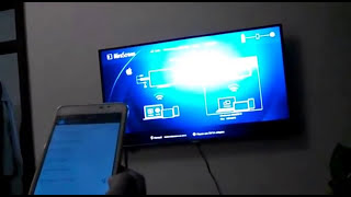 Screen Mirror Android to TV Enable wireless option if