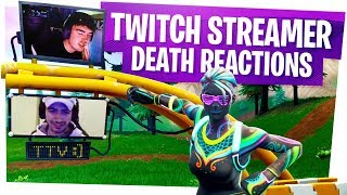 KILLING FORTNITE TWITCH STREAMERS with REACTIONS! - Fortnite Funny Rage Moments ep13