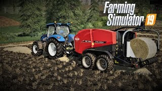 farming simulator 19 Europejski Rolnik odc33 Prasowanie na nowej aktualizacji