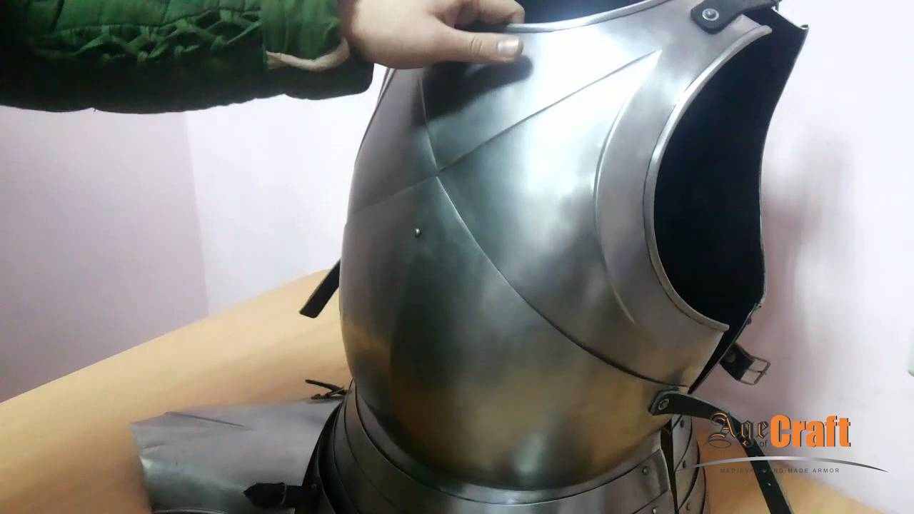 ITALIAN CUIRASS - Video Overview | Age of Craft