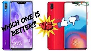 Vivo V11 , Vivo V11 Pro Vs Huawei Nova 3 , Nova 3i | Market insight