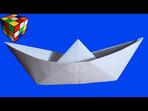 Вопрос: Как сделать кораблик из салфетки?