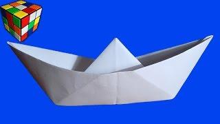 видео Как делать кораблик из бумаги