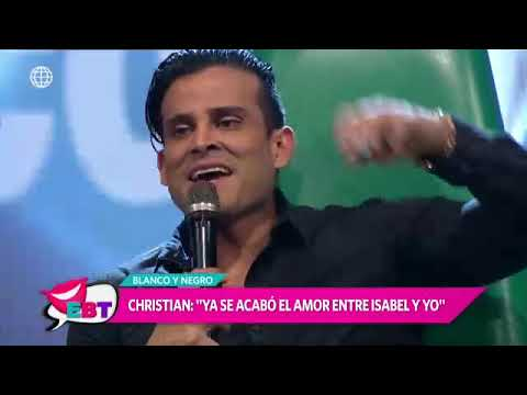 ¿Christian Domínguez sigue