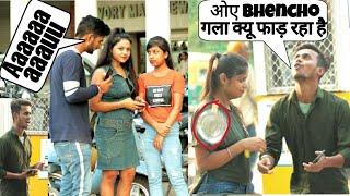 Loudly Speaking Prank On Cute Girls 2019 ! Prank in India || SANSKARI PRANK ||