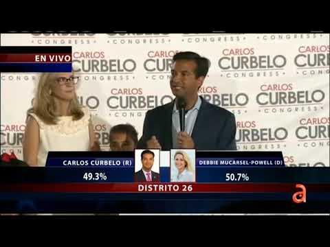 La Demócrata Mucarsel-Powell desbancó al republicano Carlos Curbelo