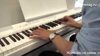 mmag.ru: Musicmesse 2015 - Yamaha P 115WH - портативное цифровое пианино, фортепиано