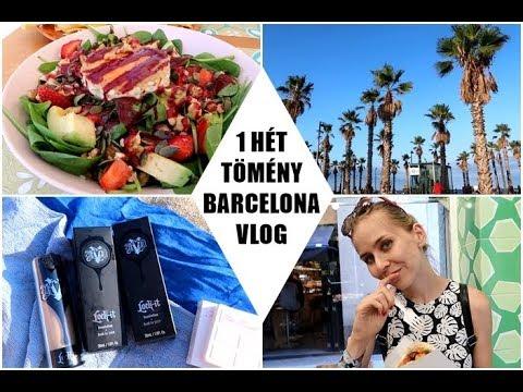 1 hét TÖMÉNY Barcelona | House Tour +  Sephora Haul | AvianaRahl
