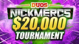 ? $20,000 WARZONE TOURNAMENT (NICKMERCS MFAM DUOS GAUNTLET)