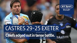 Castres vs Exeter Chiefs (29-25) Heineken Champions Cup Highlights