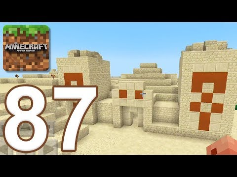 Minecraft: Pocket Edition - Gameplay Walkthrough Part 87 - Desert Temple (iOS, Android)