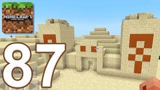 - Minecraft Pocket Edition Gameplay Walkthrough Part 87 Desert Temple iOS, Android
