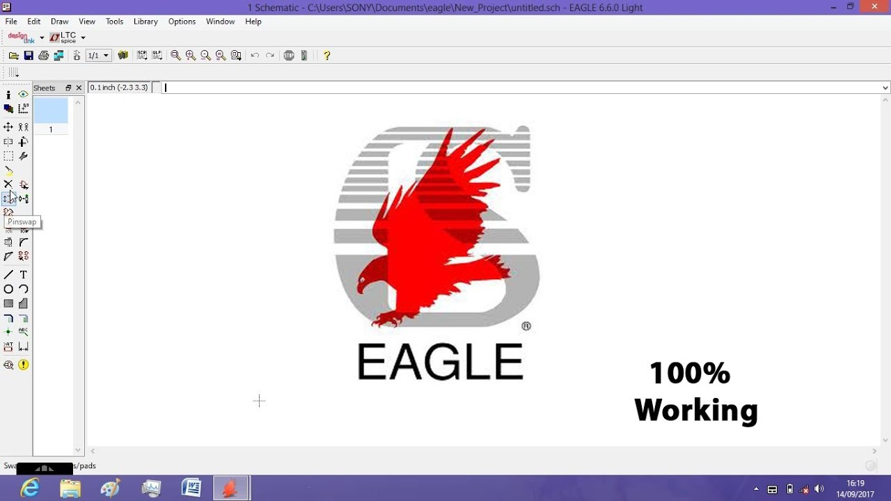 Tutorial 1 for Eagle: Schematic Design, Download Eagle Software 100 ...
