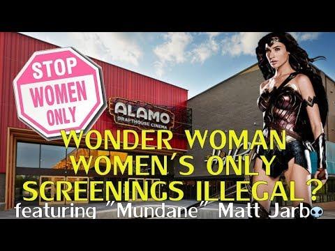 Wonder Woman Alamo Legal Trouble-Featuring Mundane Matt-Midnight's Edge After Dark