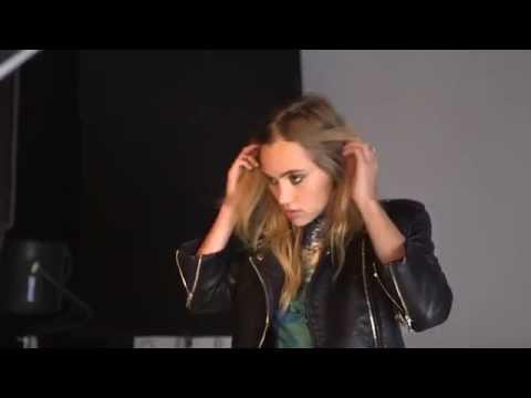 Behind the scenes: Suki Waterhouse for Amazon Fashion