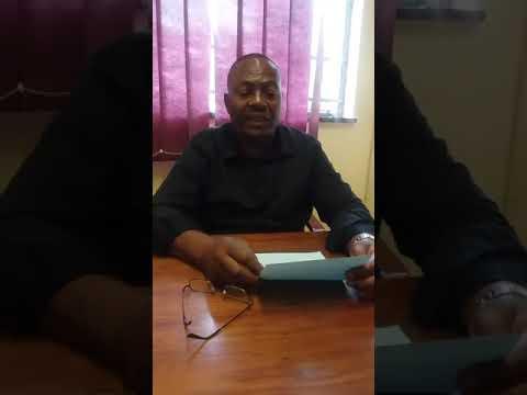 """Crime does not pay"" Senior Assistant Comissioner, Botswana Police Nunu Lesetedi"