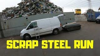 Street Scrap Steel Run for Cash