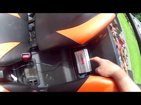 2014-polaris-rzr-900-marine-amp-stereo-install-under-150.00$