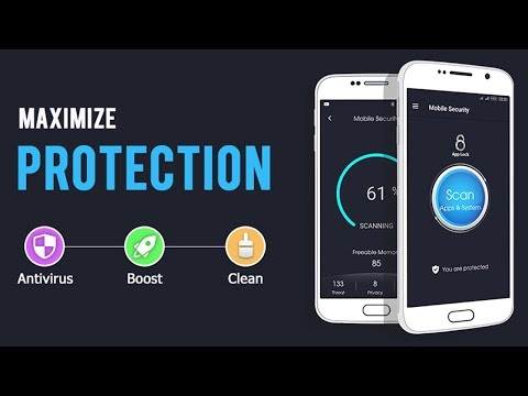 Free and Best Antivirus 2017 with virus cleaner, Speed Booster and app lock for Android Mobile
