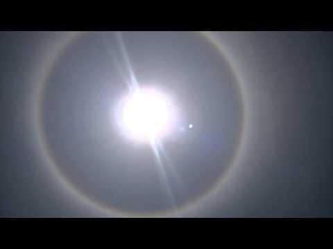 Solar halo - Angola 30 Jan 2015